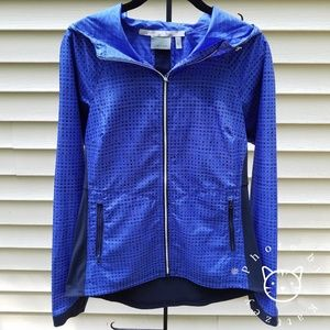 Athleta Accelerate Reflective Jacket With Hood